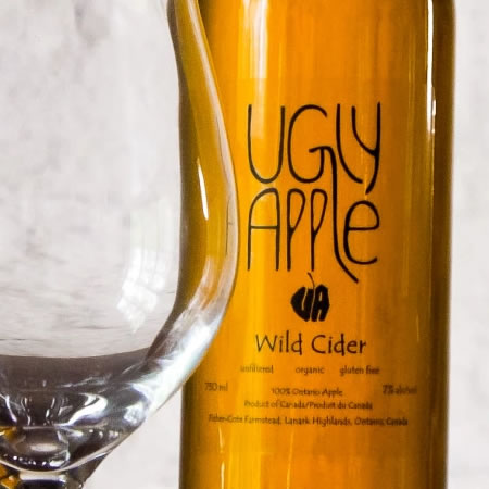 Cider from Ugly Apple Cidery